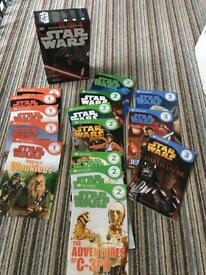 Star Wars reader set of 15 books
