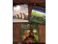 3 BBC wildlife books