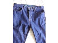 "Mens jeans, 34"" waist, 32"" leg, F&F (Tesco)"