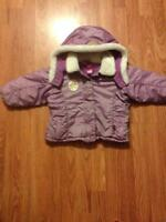 Size 12 month old disney ariel coat