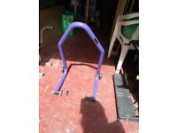 Micron motorcycle stand