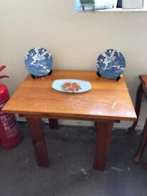 Small wooden occasional table
