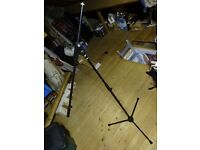 K and M Boom microphone stand