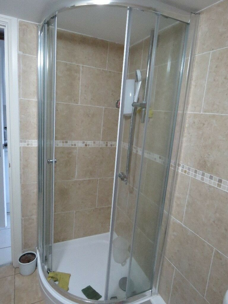 800mm x 800m quadrant shower enclosure and tray for sale | in ...