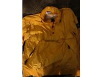 Genuine MEMBRANA TC Stone Island jacket (yellow) mint condition size : LARGE