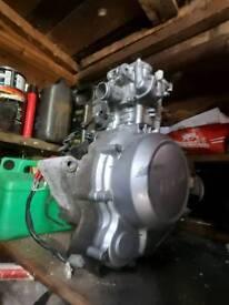 Yamaha yzf r125 wr engine