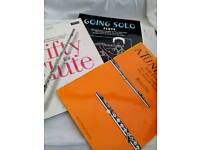 Assorted flute books beginners x 3 - £2.