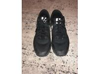 Nike Air Max 1 Trainers Black Size 10