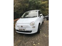 Fiat 500 POP, cute baby blue, great condition & low mileage