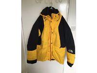 Like new 2 x NorthFace down feather Gore-Tex full waterproof super warm jacket