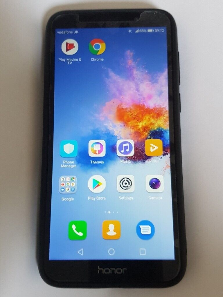 15342abd84e9c4 Boxed Unlocked Huawei Honor 7s 16GB Black 5.45 Inch Screen Smartphone Dual  Sim