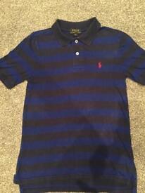 Boys genuine Ralph Lauren polo tshirt