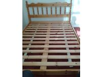 Double Bed - Pine