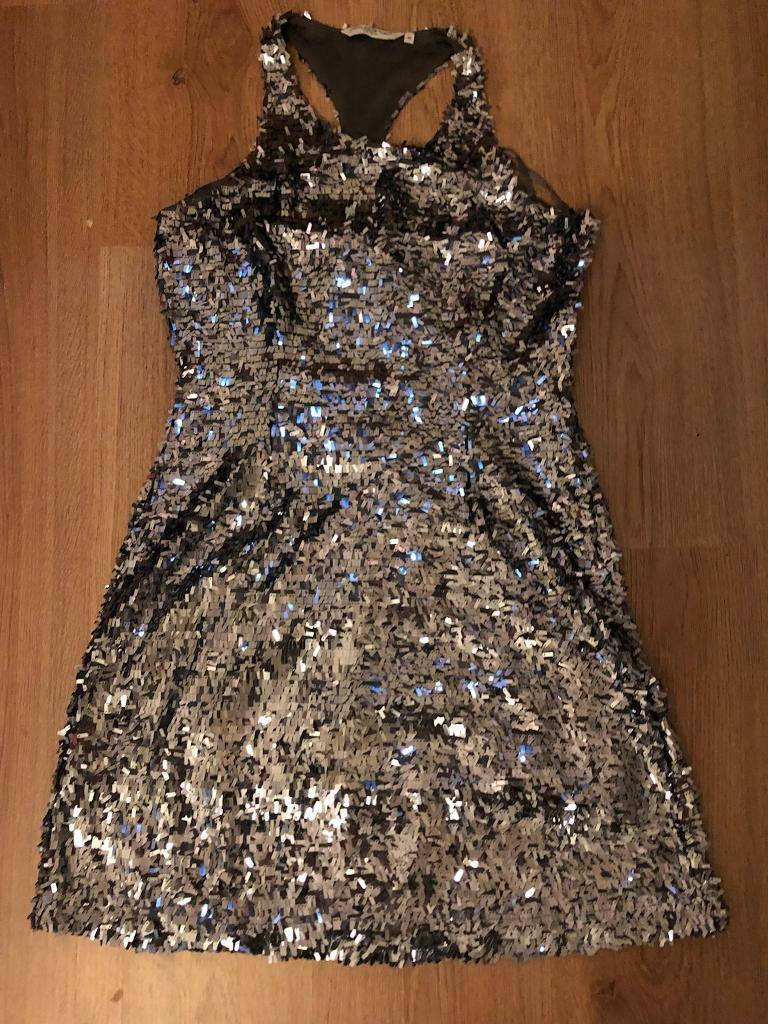 Sequin dress size 10 New Look
