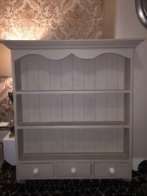 Attractive Welsh dresser top hand painted to a high standard in Annie Sloan chalk paint