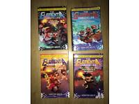 4 elementia chronicles books by Sean Fay Wolfe