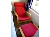Very Comfy Rocking Chair. Perfect for Breastfeeding. Selling because of moving abroad