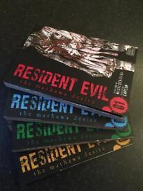 Manga- resident evil