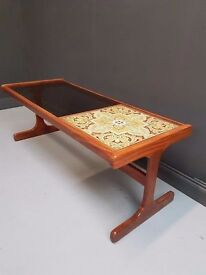 Price includes delivery for North, East & South East London G Plan Tiled Coffee Table Retro Vintage