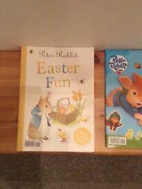 Peter rabbit activity books
