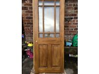 2 x Homebase glazed doors