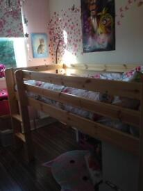 Mid sleeper single bed