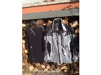 Spyder Skiing Jacket and Trousers. Size L.