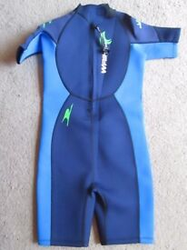Children's 11-12 New Wet Suit