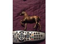 VINTAGE BRASS HORSE £20