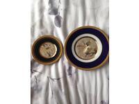 24k gold decorative plates