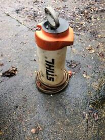 Stihl dust suppression water bottle