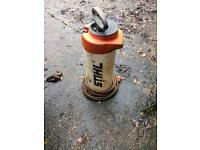 Stihl dust suppression water bottle