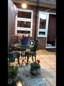 Beautiful, lovely garden flat TWO DOUBLE LARGE BEDS LARGE ROOMS THROUGHOUT. MUST VIEW ASAP