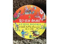 Roald Dahl audio books CD
