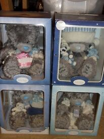 Me to you tatty teddy blue nose friend limited edition boxed bears