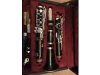 Buffet and Crampon R13 Bb wooden Clarinet, silver keys immaculate condition. No marks or scratches