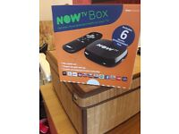 Now tv box only ***** no voucher ***
