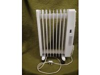 Silvercrest Oil Filled Radiator Fan Assisted, Thermostat 2300-2600W