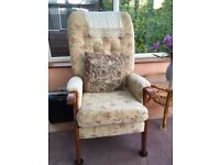 Armchair, good, clean condition from pet and smoke free home