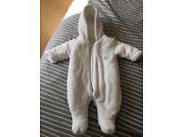 Newborn Baby winter suit Mamas and Papas