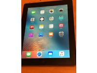 iPad 3 32GB Wifi Model A1416 good condition with case
