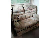 2x two seater sofas, great condition