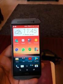 HTC one M8 16 GB Grey Unlocked mint condition