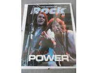 "Status Quo ""Boogie Power, The History of Rock No.87"" in clip-non glass frame"