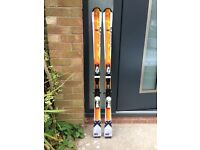 Salomon intermediate skis