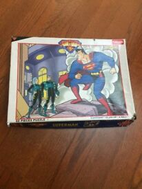 Superman Jigsaw Puzzle Game (for 4-8 years old)