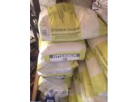 6 25kg bags of otterbein lime mortar