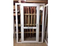 PVCu Front Door with side panels
