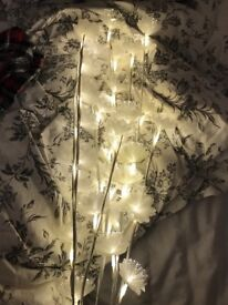 Flower Fairylights, approx 1m tall