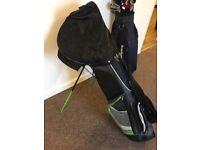 Bay hill golf clubs & case